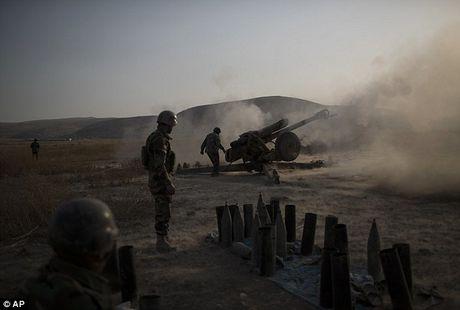 IS dien cuong tan sat 100 dan thuong khi thao chay o Mosul - Anh 8