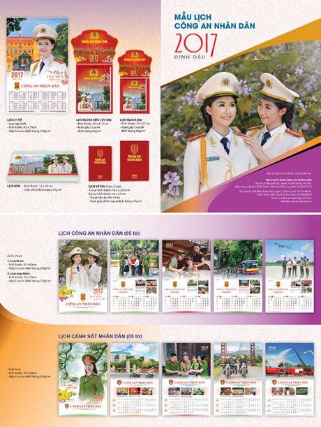 Phat hanh lich Cong an nhan dan 2017 - Anh 1