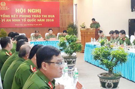Giao ban cong tac xay dung luc luong Canh sat PCCC Cum thi dua 10, 11 - Anh 4