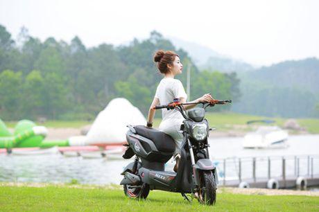 Kham pha dong xe dien duoc trang bi dong co den 1500w - Anh 5