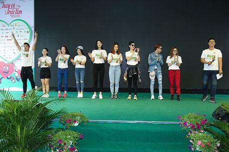 Ngoc Thanh Tam, Diem My 9X, Trong Hieu Idol chay vi trai tim - Anh 9