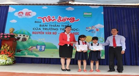 Giai thuong Le Quy Don nam hoc 2016 – 2017 - Anh 1