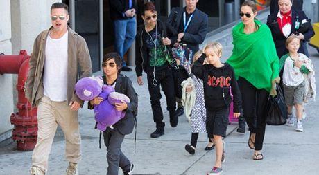 Brad Pitt that bai, Angelina Jolie tiep tuc duoc quyen nuoi con - Anh 1