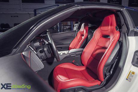 Ngam sieu xe Corvette Z06 dau tien Viet Nam 'khoac ao moi' - Anh 12