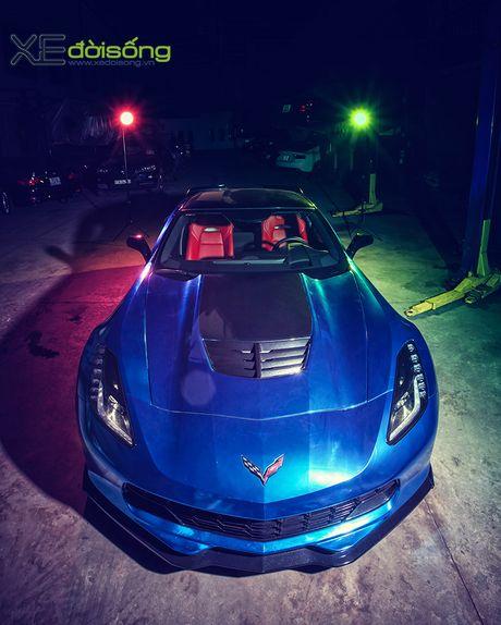 Ngam sieu xe Corvette Z06 dau tien Viet Nam 'khoac ao moi' - Anh 2