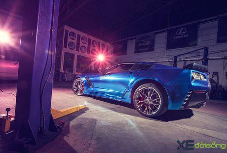 Ngam sieu xe Corvette Z06 dau tien Viet Nam 'khoac ao moi' - Anh 7