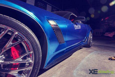 Ngam sieu xe Corvette Z06 dau tien Viet Nam 'khoac ao moi' - Anh 9