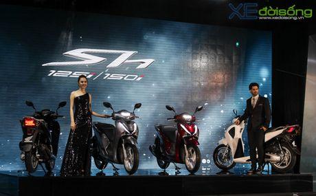 Honda Viet Nam lan dau ra mat SH phanh ABS gia tu 76 trieu dong - Anh 1