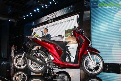 Honda Viet Nam lan dau ra mat SH phanh ABS gia tu 76 trieu dong - Anh 3