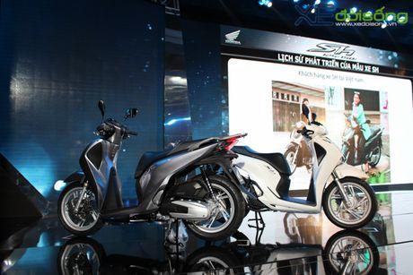 Honda Viet Nam lan dau ra mat SH phanh ABS gia tu 76 trieu dong - Anh 4