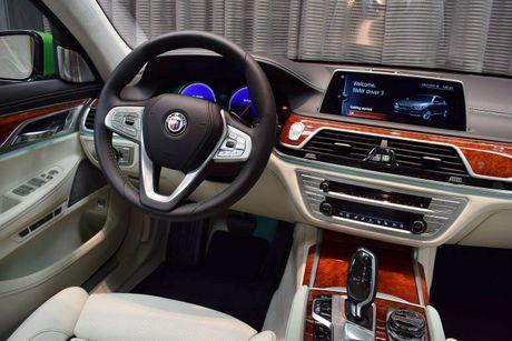 Mat mat voi sieu sedan BMW Alpina B7 2017 mau Java Green - Anh 12