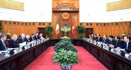 Thu tuong de nghi Chinh phu Ireland khuyen khich doanh nghiep dau tu tai Viet Nam - Anh 2