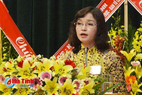 Dai hoi dai bieu Phu nu Ha Tinh lan thu XV thanh cong tot dep - Anh 4