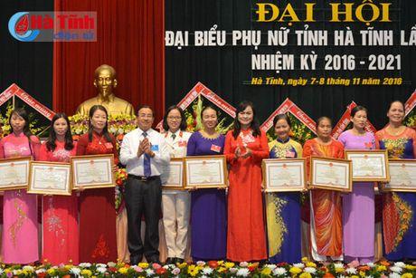 Dai hoi dai bieu Phu nu Ha Tinh lan thu XV thanh cong tot dep - Anh 6