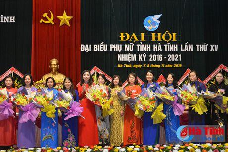 Dai hoi dai bieu Phu nu Ha Tinh lan thu XV thanh cong tot dep - Anh 7