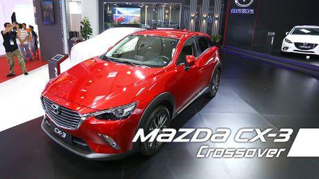 Can canh Mazda CX-3 - Doi thu Ford Ecosport tai Viet Nam - Anh 1