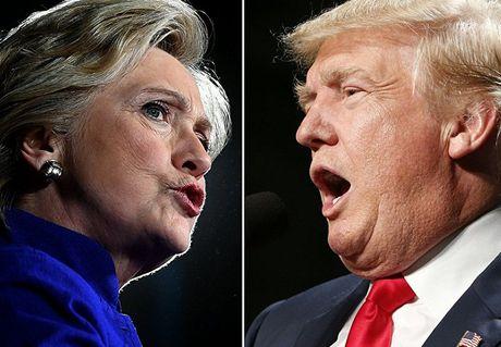 Nhung quan diem khac biet cua Trump va Clinton ve nuoc My - Anh 1