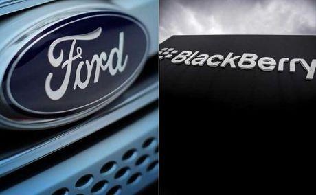 BlackBerry bat tay Ford phat trien phan mem - Anh 1