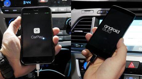 'Mo xe' Apple CarPlay va Google Android Auto tren xe hoi - Anh 1