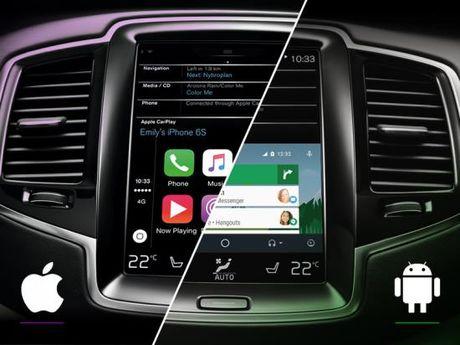 'Mo xe' Apple CarPlay va Google Android Auto tren xe hoi - Anh 2