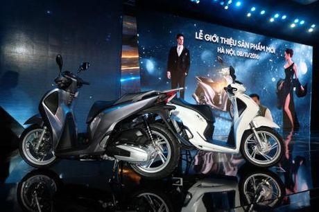 Honda ra mat SH 125i/150i phanh ABS voi gia ban tu 68 trieu dong - Anh 1