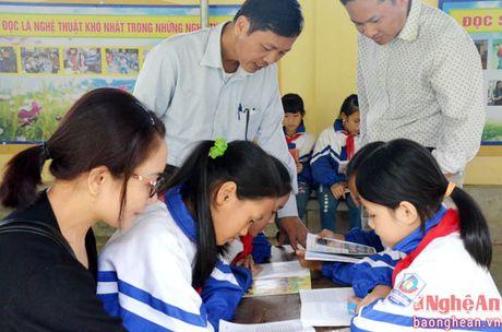 Doc dao cac mo hinh thu vien truong hoc o Do Luong - Anh 5