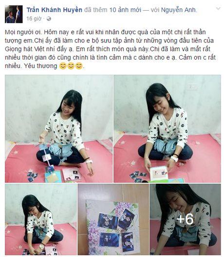 Khanh Huyen team Noo bat ngo nhan qua y nghia hau The Voice Kids - Anh 1