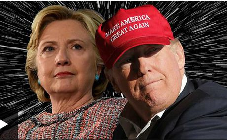 Cu tri My bat dau cuoc bo phieu gay can: Donald Trump hay Hillary Clinton? - Anh 1