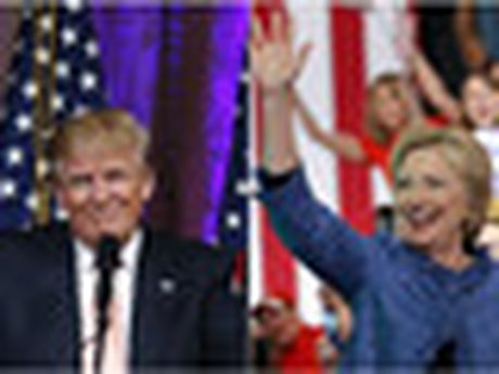 Clinton, Trump tung clip tong ket chien dich tranh cu - Anh 1