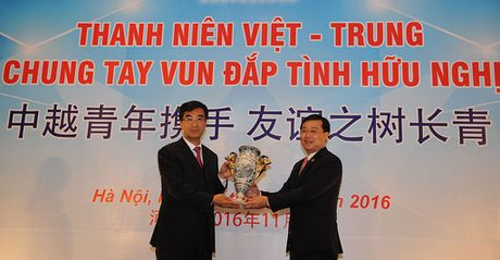 Tang cuong giao luu hop tac thanh nien hai nuoc Viet Nam - Trung Quoc - Anh 1