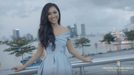 Dieu Ngoc dua canh dep mien Trung vao clip gioi thieu tai Miss World 2016 - Anh 1