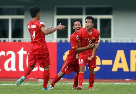 Hoang Thanh Tung lap sieu pham cho U-22 Viet Nam - Anh 2