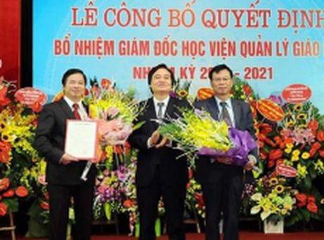 GS.Pham Quang Trung lam Giam doc Hoc vien Quan ly giao duc - Anh 1