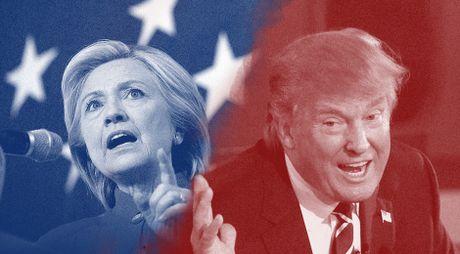 8 quan diem khac biet cua Clinton va Trump - Anh 1