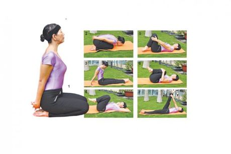 4 tu the yoga duong sinh giup thu gian - Anh 1