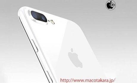 Apple sap trinh lang iPhone 7 va 7 Plus mau trang? - Anh 1