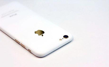 Apple sap trinh lang iPhone 7 va 7 Plus mau trang? - Anh 2