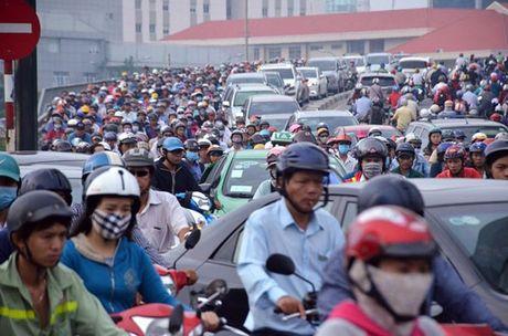 'Giai cuu' khu Nam Sai Gon bang nhieu cong trinh ket noi - Anh 1