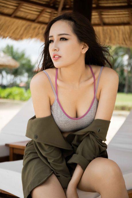 Mai Phuong Thuy khoe hinh the cuc 'boc lua' - Anh 2