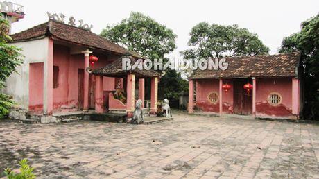 Hai Duong: Tu bo, ton tao den tho va lang mo Tran Xuan Yen - Anh 1