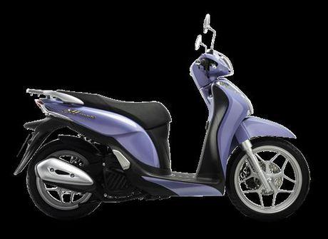 Honda Sh Mode 125 phien ban moi nhat & bo 3 mau thoi trang nhat - Anh 1