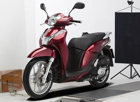 Honda Sh Mode 125 phien ban moi nhat & bo 3 mau thoi trang nhat - Anh 3