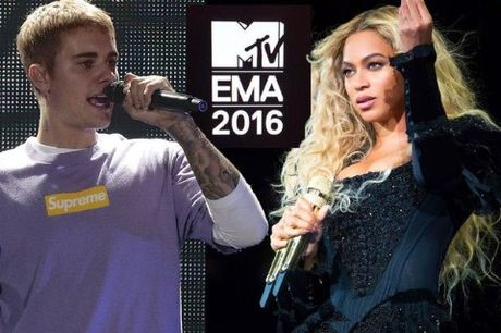 MTV EMA 2016: Dong Nhi duoc vinh danh voi Justin Bieber, Lady Laga - Anh 1