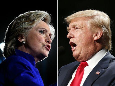 CAP NHAT bau cu My: 41 trieu nguoi da bo phieu som, ba Hillary Clinton dang dat ky luc - Anh 4
