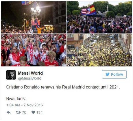 CDV Barca an mung vi... Ronaldo ki hop dong moi voi Real - Anh 1