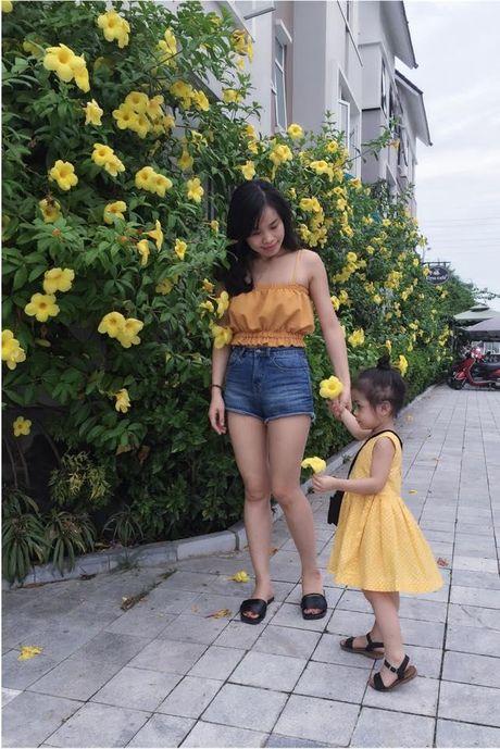 Chan dung 'nu chinh' dang yeu trong clip 'Xe dap oi' phien ban nhi gay sot cong dong mang - Anh 2