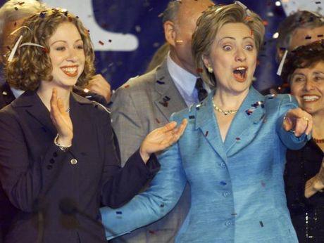 Chum anh: Hillary Clinton tu De nhat phu nhan toi giac mo nu Tong thong My dau tien - Anh 12