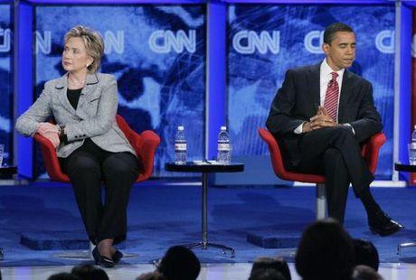 Chum anh: Hillary Clinton tu De nhat phu nhan toi giac mo nu Tong thong My dau tien - Anh 17