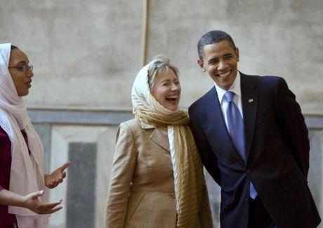 Chum anh: Hillary Clinton tu De nhat phu nhan toi giac mo nu Tong thong My dau tien - Anh 19