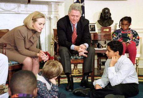 Chum anh: Hillary Clinton tu De nhat phu nhan toi giac mo nu Tong thong My dau tien - Anh 6